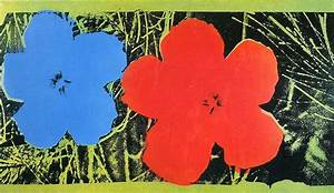 Flowers - Andy Warhol Wallpaper Image