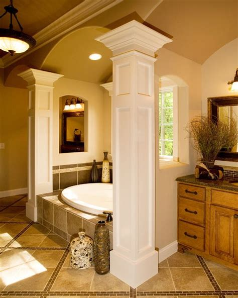 how to decorate a column columns inside and outside the house