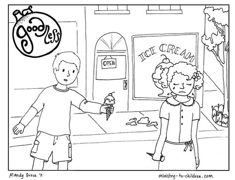 printable coloring page  goodness  kids