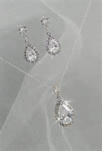 Bridal Jewelry Sets Necklace and Earrings
