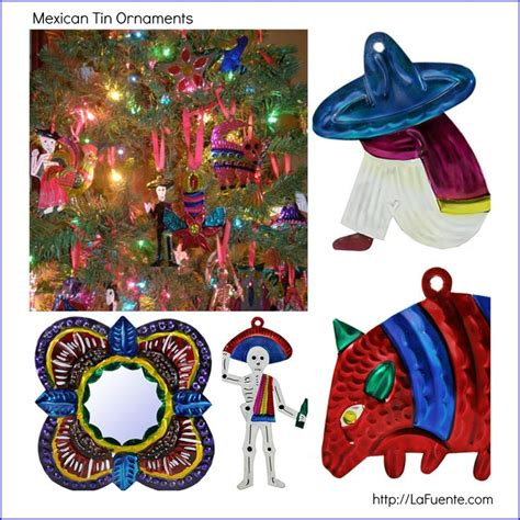 mexican tin ornaments crafts