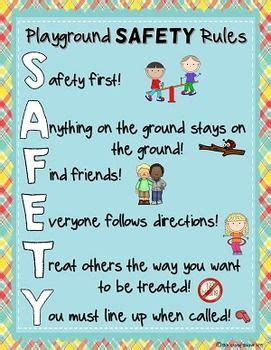 playground and recess safety posters 823 | 2072aed2df1dbab56fcf039ac7bbdf1d