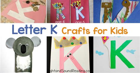 20 Letter K Crafts For Preschool Or Kindergarten