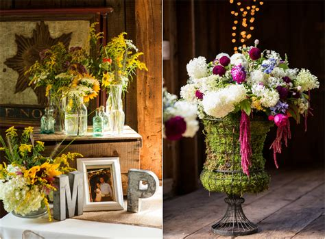 Barn Wedding Decorations : Rustic Wedding Chic