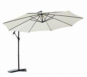 Sonnenschirm 350 Cm : sonnenschirm 350cm weiss online shop gonser ~ Markanthonyermac.com Haus und Dekorationen