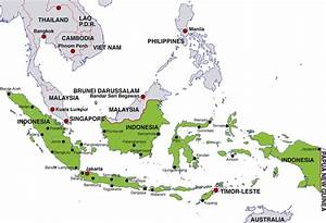 Capital cities of southeast asian