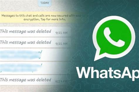 tips wa  mengetahui pesan whatsapp