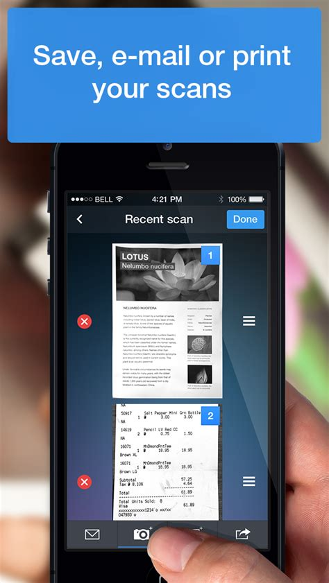 scanner pro iphone english evernote app center