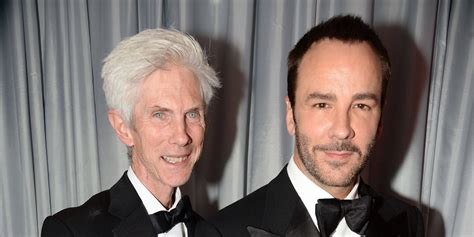Home with tom and their son, jack, by his. Richard Buckley - Tom Ford's husband age, net worth, Wiki