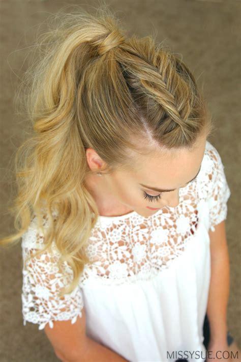 perfect holiday braided hairstyles  missy sue fashionsycom