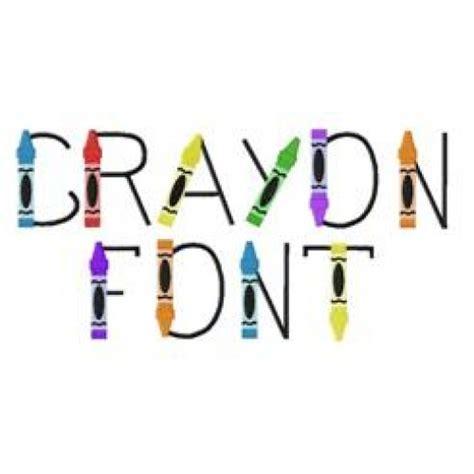 crayon font  ith crayon case