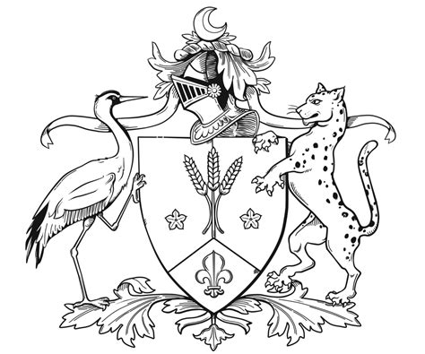 design a family crest rimmington illustration family crest