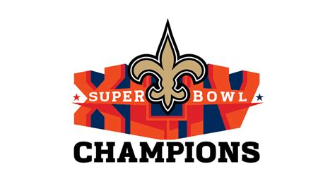 orleans saints super bowl champions logo  ai