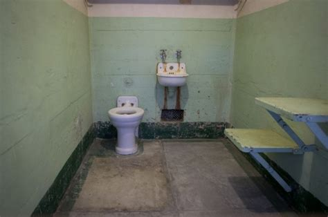prison cell bathroom  stock photo public domain pictures