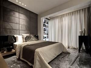 1 bedroom apartment interior design ideas modern bedroom for Modern curtains for bedroom 2016