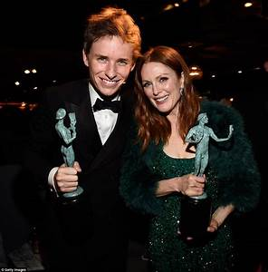 Eddie Redmayne bags another Best Actor award at SAG Awards ...