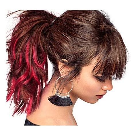 colorista hair makeup raspberry pink temporary brunette hair colour ml hair colour loreal