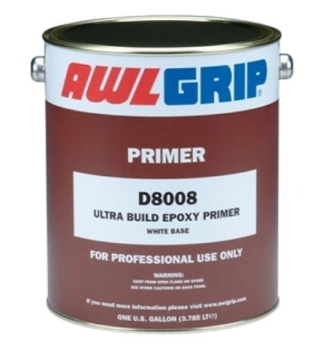 How Much Boat Bottom Paint Do I Need by Awlgrip Ultra Build Primer Converter D3018 Gallon