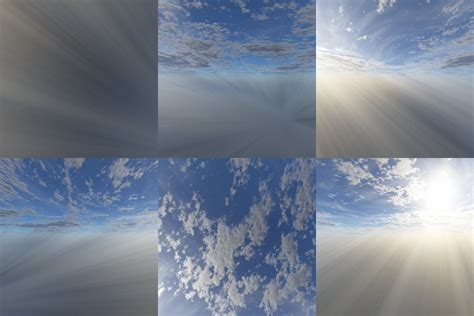 clouds skybox  opengameartorg