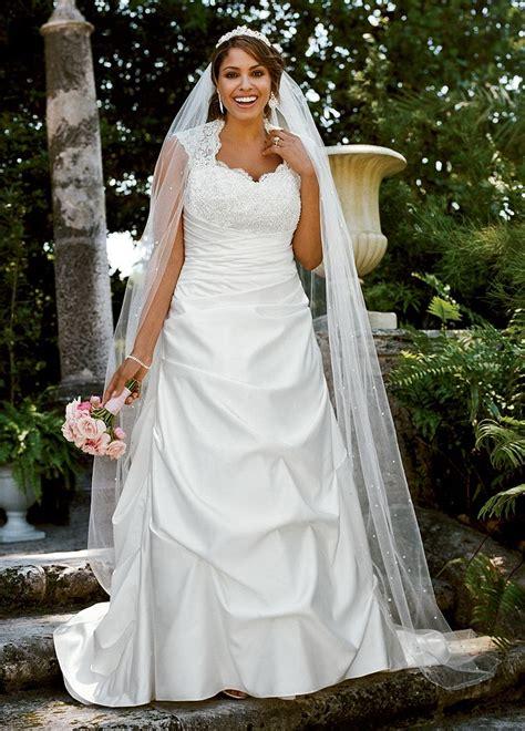 Draped Wedding Dresses - sle cap sleeved satin side draped a line wedding dress