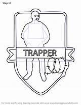 Trapper Drawingtutorials101 sketch template