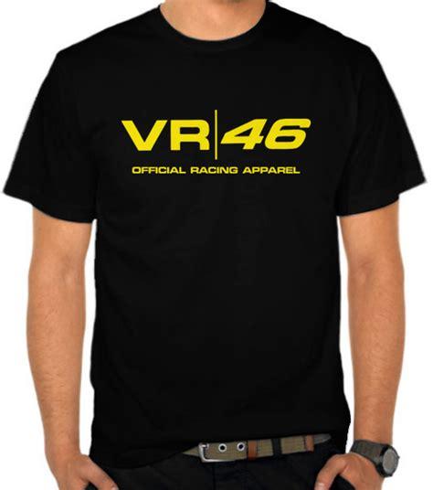 jual kaos vr 46 official racing apparel motor motogp