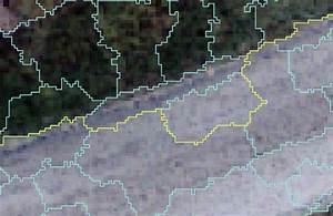 qgis - How to connect nodes via shortest path along ...
