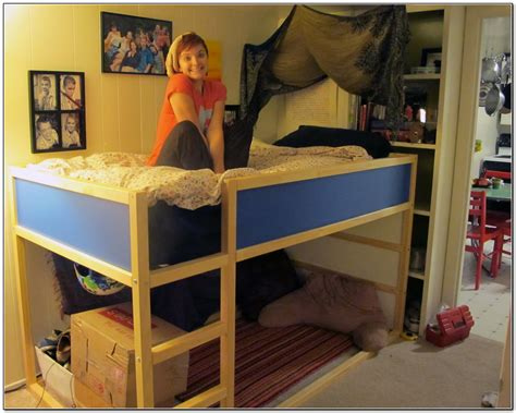 Ne Kids Highlands Loft Bed With Storage Reviews Wayfair