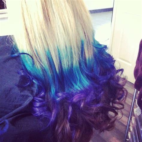 Manic Panic Voodoo Blue And Purple Haze Dip Dye