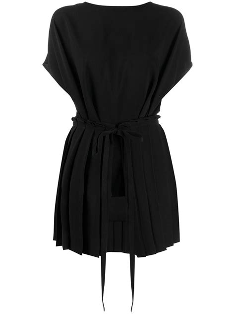 MM6 by Maison Martin Margiela Synthetic Tie-waist Pleated