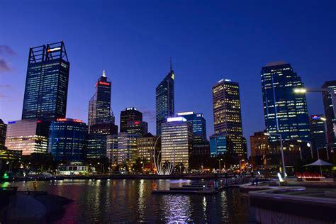 perth australia international night western skyline 26th conference wide web access