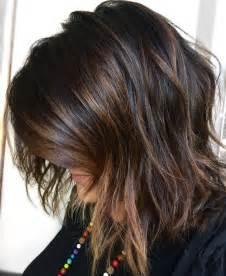 Dark Brown Hair Black Highlights