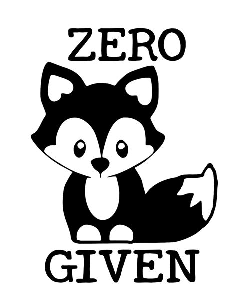 Download fox icon free icons and png images. Zero Fox Given SVG Digital Download File