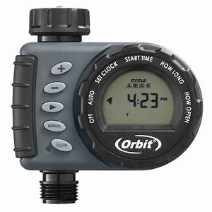 Orbit 1 Dial 1 Outlet Tap Timer