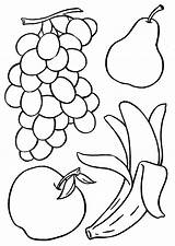 Coloring Fruits Drawing Fruit Pages Archive Books Vegetable Vegetables Album Sheets Sheet Google Colouring sketch template