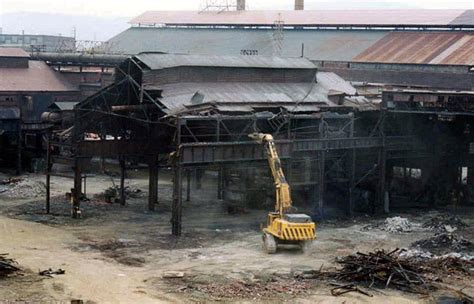 steel mill building