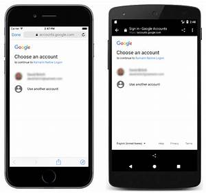 Authenticating users with an identity provider xamarin for Google docs android studio