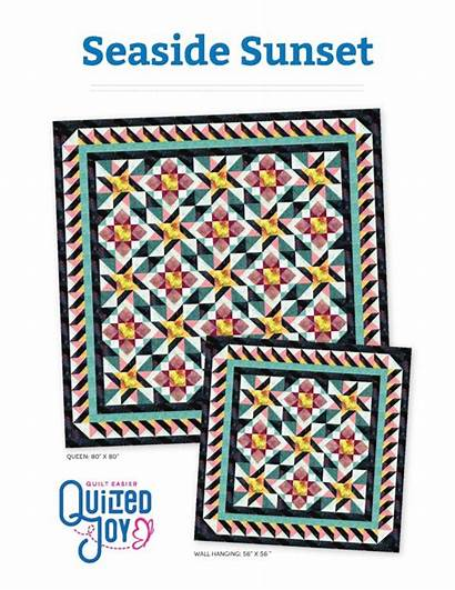Quilt Sunset Seaside Pattern Pdf Patterns Quilted