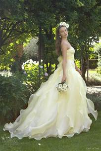 1000 images about yellow lemon dreams on yellow roses and gowns - Yellow Dresses For Wedding