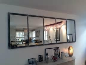 Miroir Style Verriere : miroir notos 140 cm art industriel ~ Melissatoandfro.com Idées de Décoration