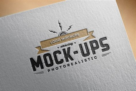This elegant and stunning logo mockup elevates the business identity in a more attractive way. 84+ Creative Logo Mockup PSD Free Download Vector Templates