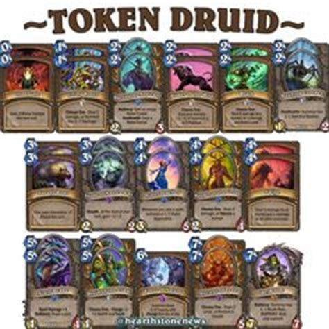 hearthstone decks druid combo the world s catalog of ideas