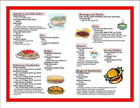carte cuisine food menu list images