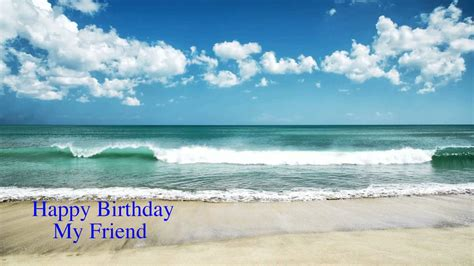 Birthday Wishes Beach Theme
