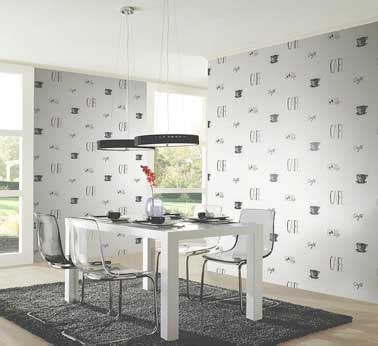 papier peint vinyle cuisine cuisine moderne avec un papier peint intissé chantemur