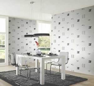 le papier peint confirme sa tendance deco With papier peint cuisine moderne
