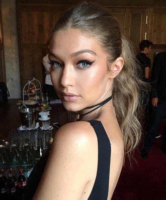 make-up tumblr gigi hadid celebrity style celebrity model ...