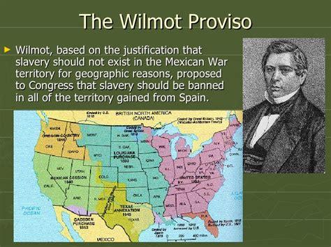 wilmot proviso  popular sovereignty
