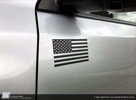 american flag decal toyota runner tacoma fj sequoia
