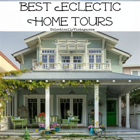 Eclectic Home Tour  City House & Farmhouse Tour